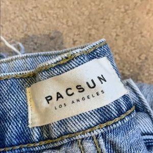 Pacsun light colored jeans